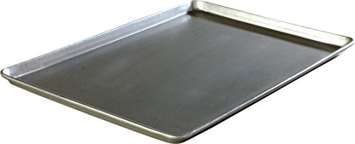 Carlisle 601826 Heavy Duty 3003 Aluminum Full Size Sheet Pan, 25.75'' Length x 17.81'' Width (Case of 12) by Carlisle