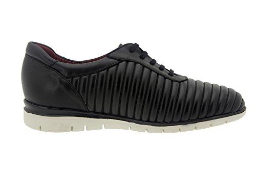 Speciale Donna Piesanto Larghezza Comfort negro 7994 Pelle Caucho Scarpe Sneaker 0qOq75Zr
