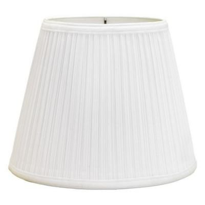 "Deran Lamp Shades Deran 402-16-FB 16"" Mushroom Pleat Brit..."