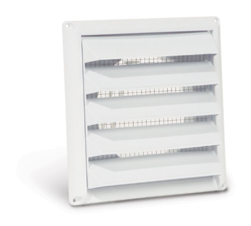 Nice Imperial Manufacturing PA 6W 6 Inch Premium Intake Cap With Built In Pest  Guard Screen, White