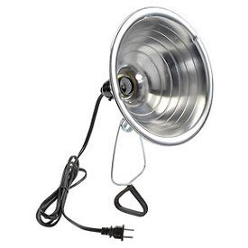 U.S. Wire Portable Clamp-On Light, 6 Ft. Cord, 18/2 Ga. SPT-2, 150W