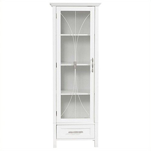 Delaney Linen Cabinet with Bottom Drawer