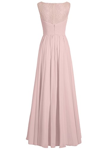 Orange Abendkleider Chiffon Brautjungfernkleid Festkleider A Hochzeitskleider Ballkleider Lang Linie n7xq4r87Uw