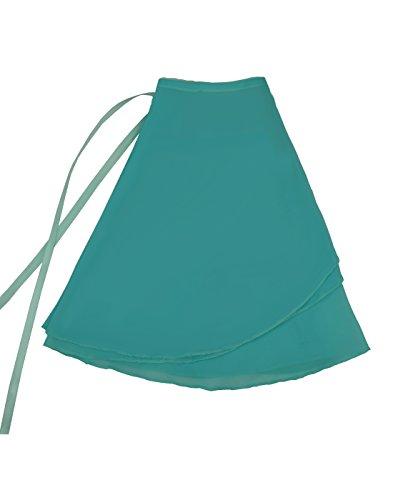 Nawty Fox Turquoise Adult Sheer Chiffon Wrap ()