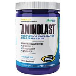 Gaspari Nutrition - AminoLast Recovery & Endurance BCAA Superfuel Lemon Ice - 30 Servings - 14.8 oz.