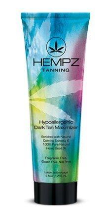 Hempz Dark Tan Maximizer, Hypoallergenic, 9 Ounce by Hempz