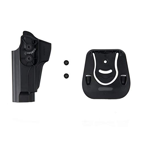 efluky Beretta Holster Ceinture Airsoft Pistolet Defense Gun Holster for Beretta 92fs, 92FS INOX, M9, Chiappa M9, M9_22… 4