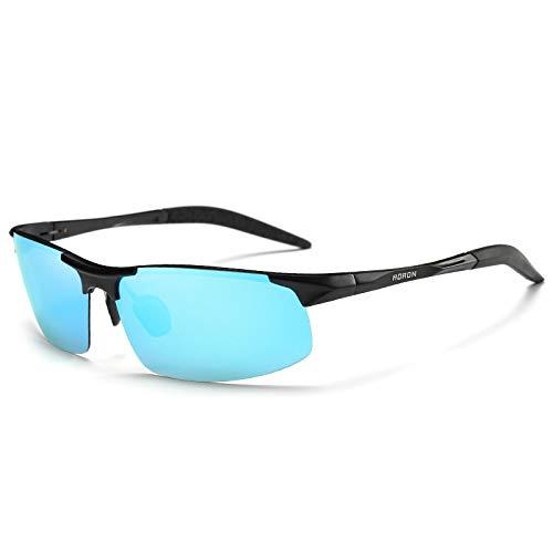 magnésium Vision Lunettes de pour H Mjia sunglasses Lunettes HD de polarisées Homme Reflets Soleil UV400 Sport Aluminium Anti Sport Protection Sq7SYa