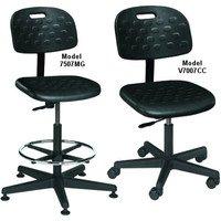Value-Line Seating Stool Polyurethane, Black