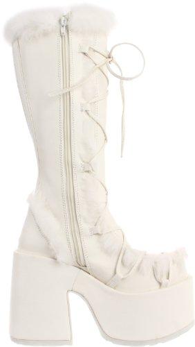 Demonia Punk 43 Stiefel Gothic 311 Schuhe Plateau 36 Industrial Camel 1r1Tf