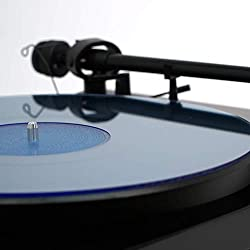 Acrylic Turntable Mat | BlueLit | LP Slipmat