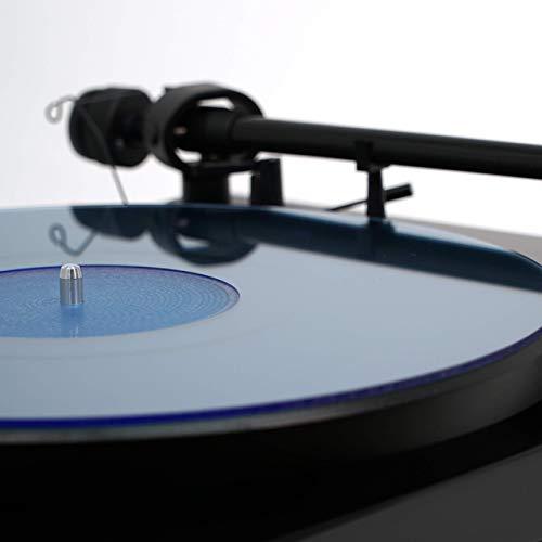 Acrylic Turntable Mat   BlueLit   LP ()