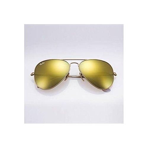 ray ban aviator gold polarized