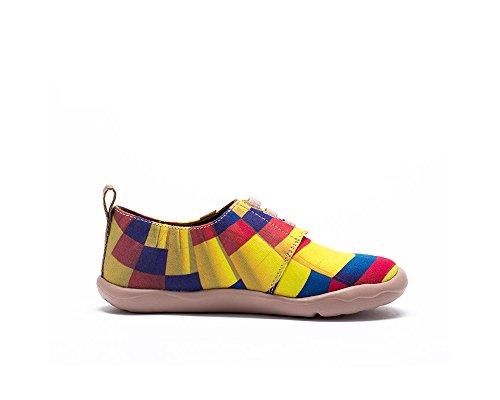 Mode Voile Toiles Uin Jaune adolescent Chaussures Età Enfant De Casual Pour La 4ddq0w