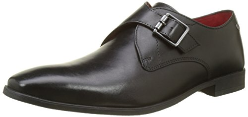 Hombre Base Mocasines 010 Black para Negro London Waxy Florin rq4qnBS
