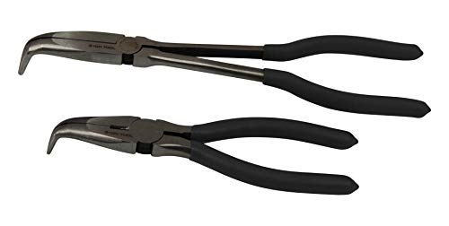 ION TOOL Angled Long Needle Nose Pliers Set - 11