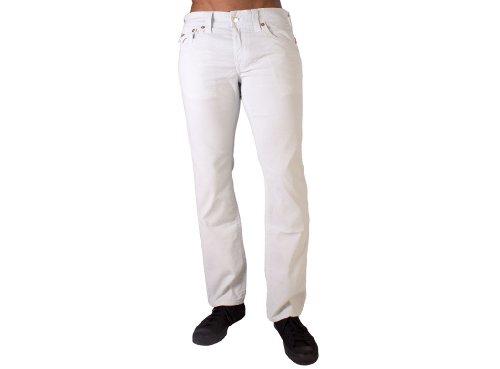 (Truereligion Ricky Straight Leg Corduroy Jean Mens Style : MCB859K32-ICELANTIC Size : L32W40)