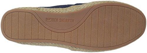 Ben Sherman Heren Nieuwe Prill Slip Op Sneaker Marine
