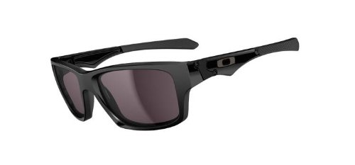 Oakley Jupiter Squared Men's Lifestyle Sports Sunglasses - Polished Black/Warm Grey / One Size Fits - Jupiter Oakleys
