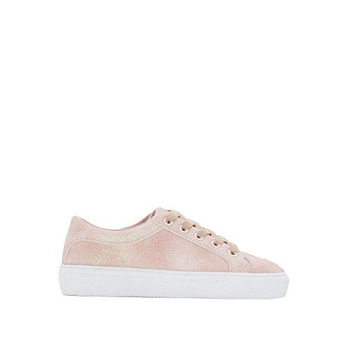 La Redoute Collections Big Girls Sparkly Trainers Pink Size 39 (5.5 to 6) by La Redoute