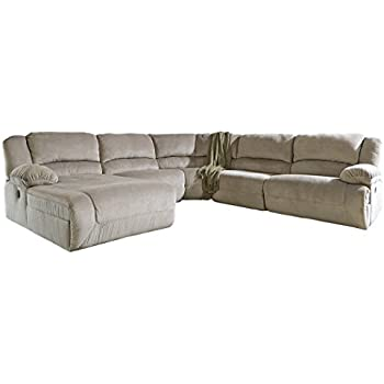 Amazon Com Ashley Furniture Signature Design Toletta 5 Piece Sectional Right Arm
