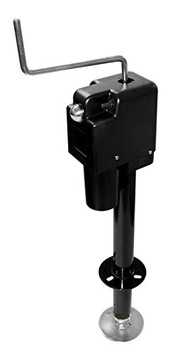 Quick Products Black JQ-3500B Electric Tongue Jack
