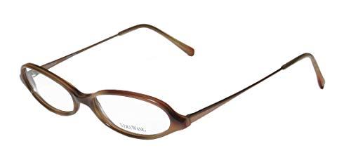 Vera Wang V46 Womens/Ladies Cat Eye Full-rim Designer Sleek European Eyeglasses/Eye Glasses (50-15-135, Brown/Bronze) (Designer Cat-eye-brillen)
