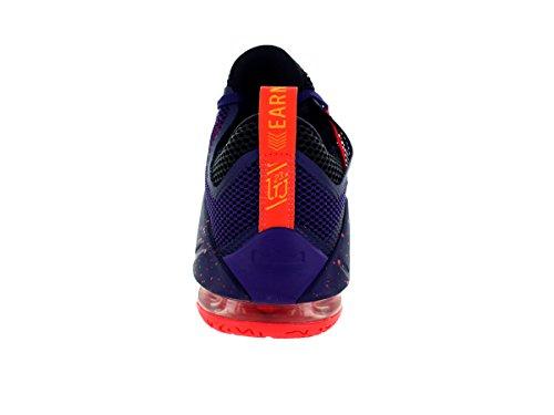 Zapatillas De Baloncesto Nike Hombres Lebron Xii Crt Prp / Bright Crimsn-cv Prp-l