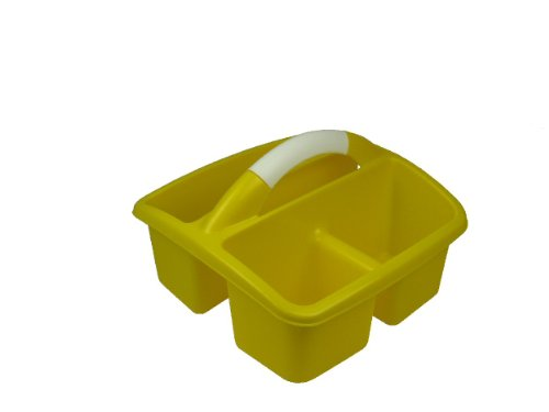 Romanoff Deluxe Small Utility Caddy, Yellow by Romanoff Products Inc