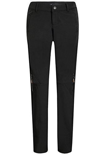 ndproof Waterproof Sportswear Workouts Fleece Snow Ski Pants (W27 x L32, Black) (Black Snow Fleece)