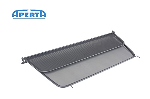 - Aperta Black winddeflector for Saab 9-3 YS3F | Tailor Made Windblocker | Windstopper Saab Convertible