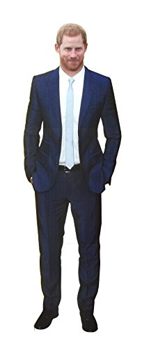 Aahs Engraving Prince Harry Life Size Carboard Stand Up  6 Feet