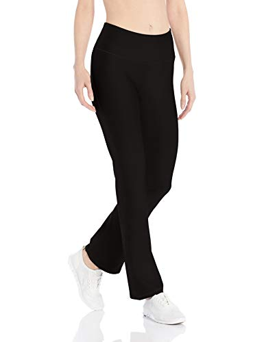 Amazon Essentials Women's Performance Slim Bootcut Active Pant, Black, X-Large