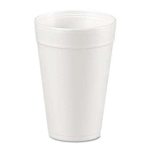 DCC 32TJ32 Drink Foam Cups, 32oz, White, 25/Bag, 20 Bags/Carton ()
