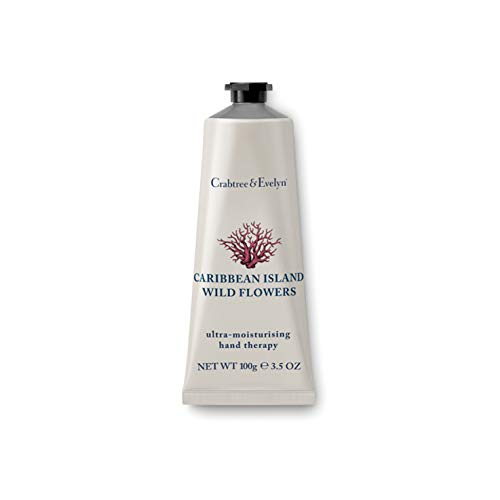 Crabtree & Evelyn Ultra-Moisturising Hand Cream Therapy, Caribbean Island Wild Flowers - 3.5 oz from Crabtree & Evelyn