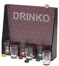 Drinko Shot Adult Party Drinking Alcohol Game College Beer Liquor Shot Glasses
