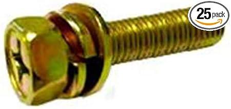 25 pcs M5 x 10mm Philips Head Screw