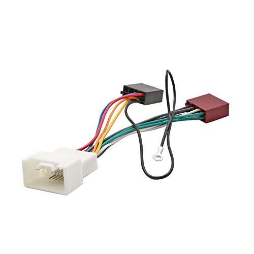 Inex ISO Wiring Harness Connector Adaptor Stereo Radio Lead loom for Mitsubishi i:
