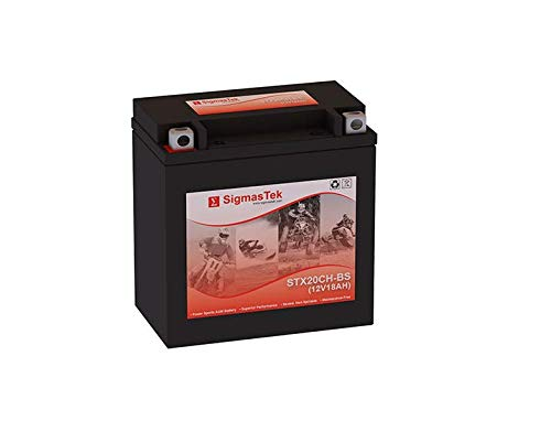 12 Volt 18 Amp Hour Sealed Lead Acid Battery Replacement with NB Terminals by SigmasTek STX20CH-BS