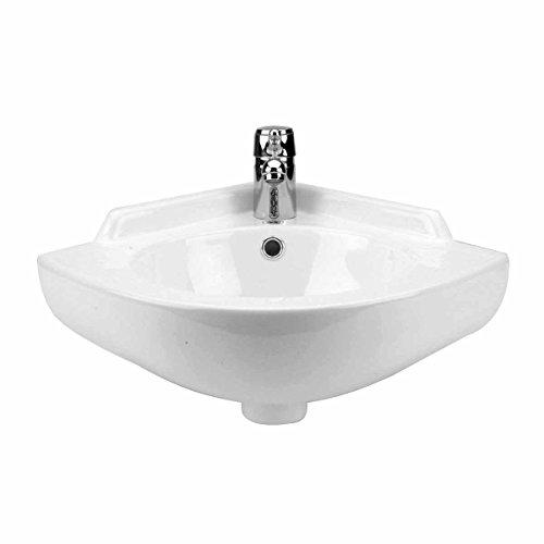Corner Sinks White Vitreous China, Mountain Pond Corner S...