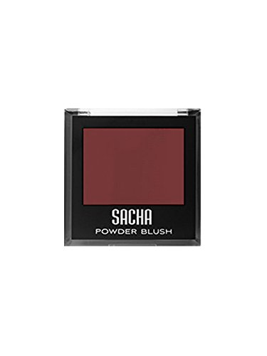 Blush by Sacha Cosmetics, Best Highlighter Makeup Blusher to Sculpt Face & Highlight Cheeks, 14 shades, 0.27 oz, Burnt -