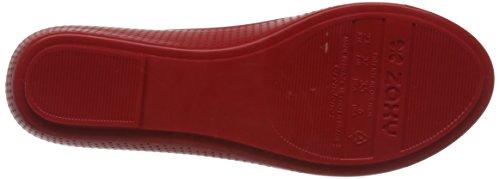 Zaxy Pop Beauty Pompes/Chaussures de Ballet pour Femme Red 8YX8t7