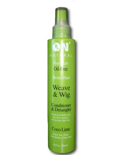 [ON Natural Coco-Lime Conditioner & Detangler, 8oz (Coco-Lime)] (Lime Green Wigs)