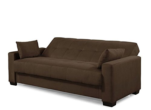 Pearington Mia Sofa & Couch Sleeper Bed, Java