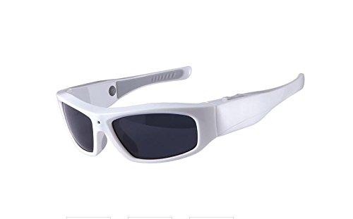 forestfish Gafas de sol con cámara HD 720P Gafas de cámara espía con grabador de vídeo
