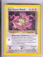 Pokemon Card - Black Star Promo #18 - TEAM ROCKET'S - Meowth Card