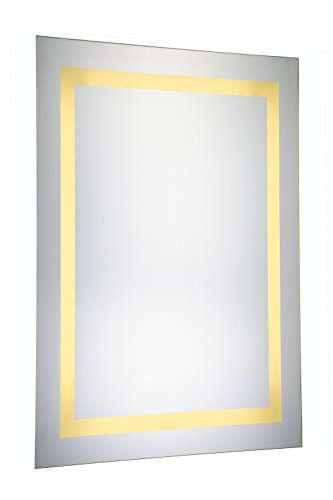 Elegant Decor Mre-6012 Dimmable 3000K LED Electric Mirror Rectangle, 20'' Width x 40'' Height by Elegant Decor