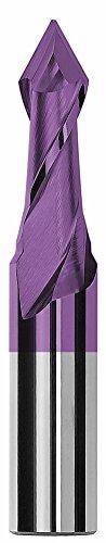 8.0 mm 60 Degree Magafor 888088H0800 Hard-X Carbide Multi-V Drill Bit