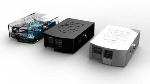 Raspberry Pi Case / Enclosure (Black)