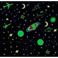 Kolossalz Galaxy Of Stars Radium Glow In The Dark Wall Sticker